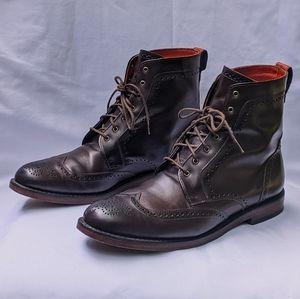 Allen Edmonds men's lace-up boots